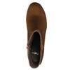 Botki damskie bata, brązowy, 599-3614 - 19