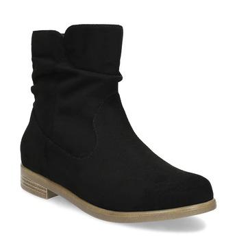 Botki damskie bata, czarny, 599-6614 - 13