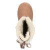 Dziecięce skórzane walonki bata, czerwony, 393-5604 - 26