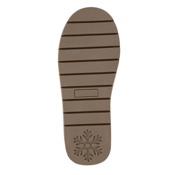 Dziecięce skórzane walonki bata, czerwony, 393-5604 - 19