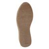 Skórzane sznurowane botki bata, czarny, 596-6673 - 17