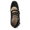 Czarne czółenka zklamrami bata, czarny, 723-6984 - 15