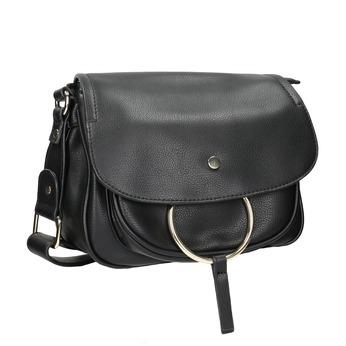 Damska torebka przewieszana przez ramię bata, czarny, 961-6161 - 13