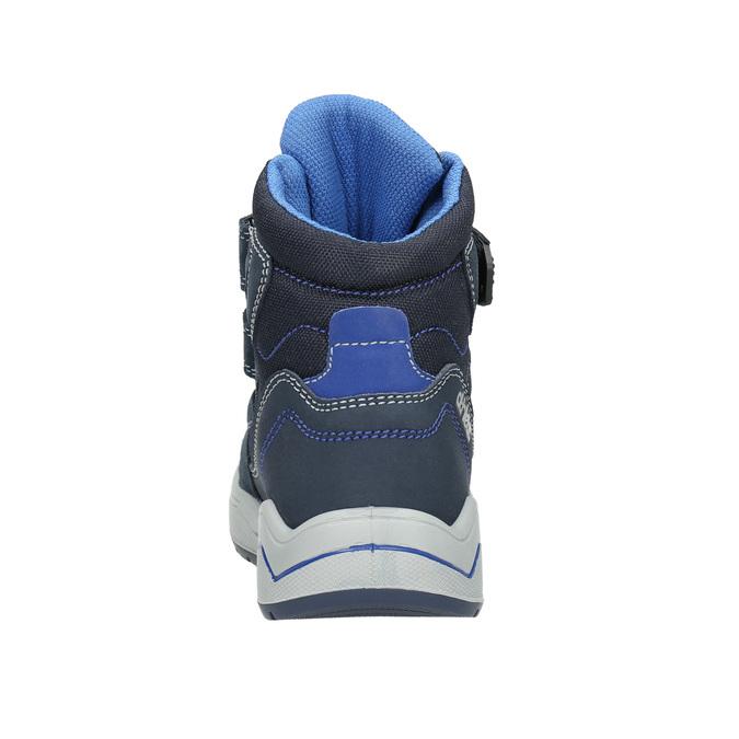 Zimowe buty dziecięce mini-b, niebieski, 293-9615 - 17