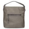 Skórzana torebka damska wstylu hobo, zpaskiem gabor-bags, brązowy, 961-8029 - 26