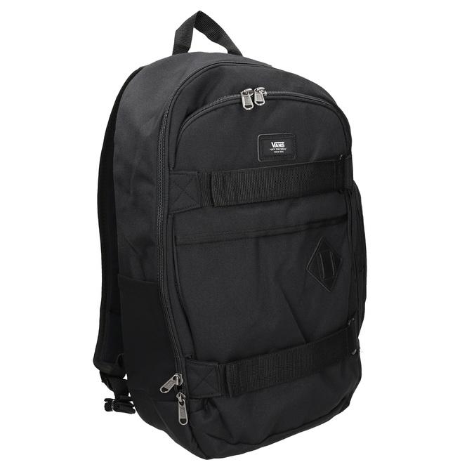 Czarny plecak zklamrami vans, czarny, 969-6098 - 13