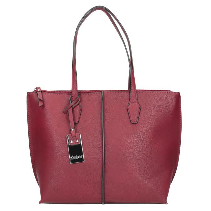 Czerwona torebka damska gabor-bags, czerwony, 961-5059 - 26