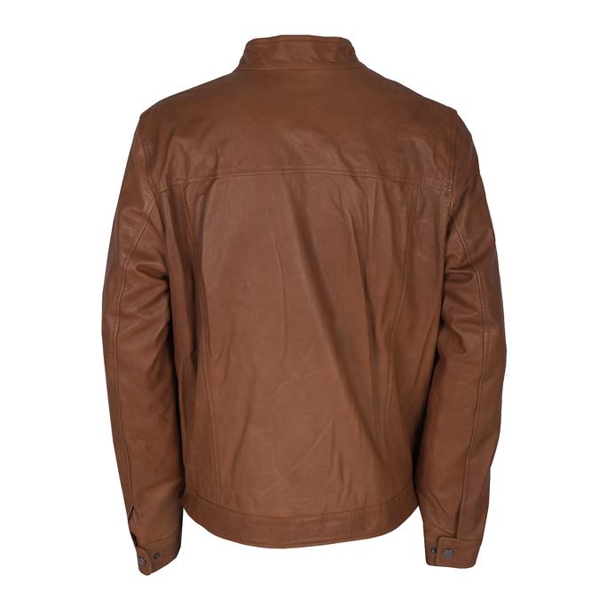 Skórzana kurtka męska bata, brązowy, 974-0154 - 26