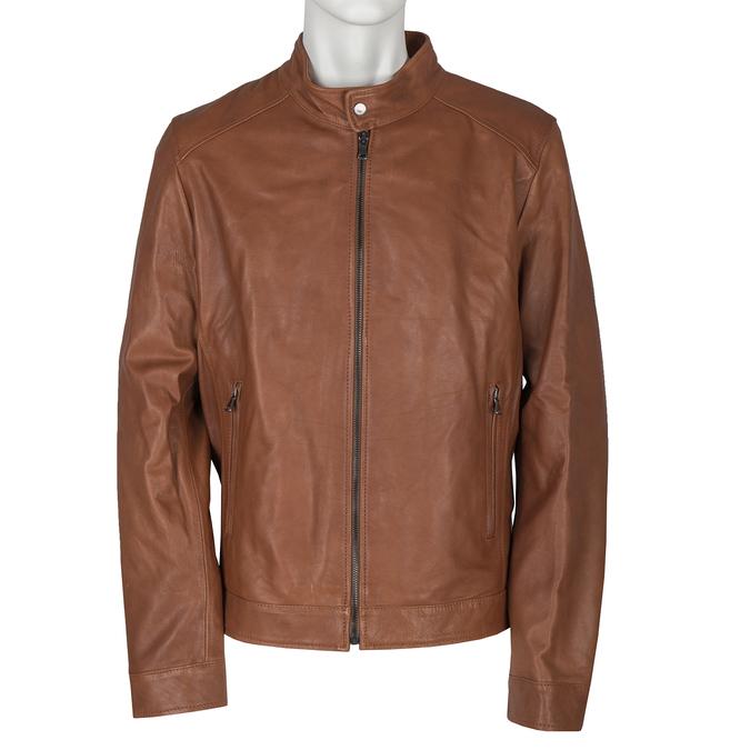 Skórzana kurtka męska bata, brązowy, 974-0154 - 13