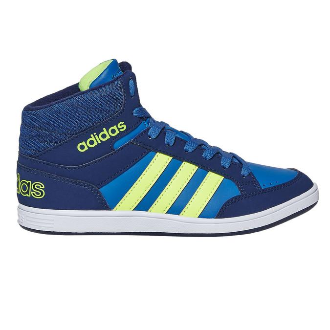 Trampki dziecięce za kostkę adidas, niebieski, 401-9291 - 15