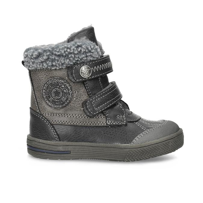 Zimowe buty dziecięce bubblegummer, brązowy, 191-4619 - 19