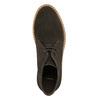 Skórzane damskie desert boots bata, brązowy, 593-4608 - 26