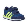 Trampki dziecięce na rzepy adidas, niebieski, 109-9157 - 13
