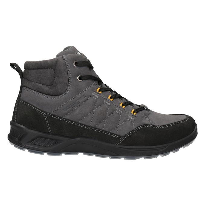 Turystyczne buty męskie skórzane weinbrenner, szary, 846-2647 - 26