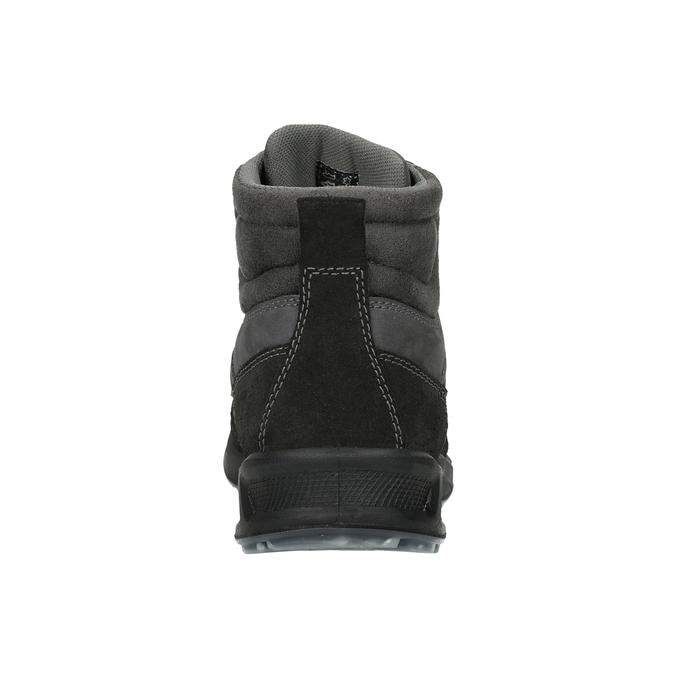 Turystyczne buty męskie skórzane weinbrenner, szary, 846-2647 - 16