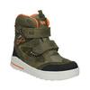 Zimowe buty dziecięce ze skóry weinbrenner-junior, zielony, 493-7612 - 13