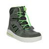 Zimowe buty dziecięce ze skóry weinbrenner-junior, szary, 493-2613 - 13
