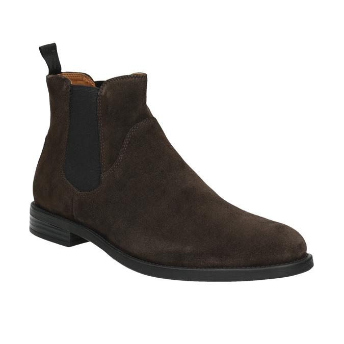 Skórzane buty męskie typu Chelsea vagabond, brązowy, 813-4019 - 13
