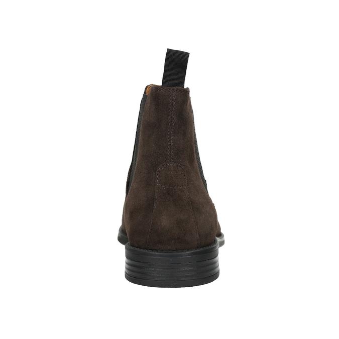 Skórzane buty męskie typu Chelsea vagabond, brązowy, 813-4019 - 16