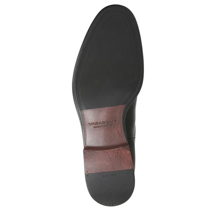Skórzane buty męskie typu Chelsea vagabond, czarny, 814-6024 - 17
