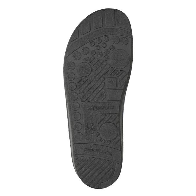 Kapcie męskie bata, niebieski, 879-9611 - 19
