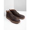 Skórzane buty męskie za kostkę bata, brązowy, 846-4653 - 18