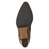 Skórzane botki bata, brązowy, 794-4650 - 19