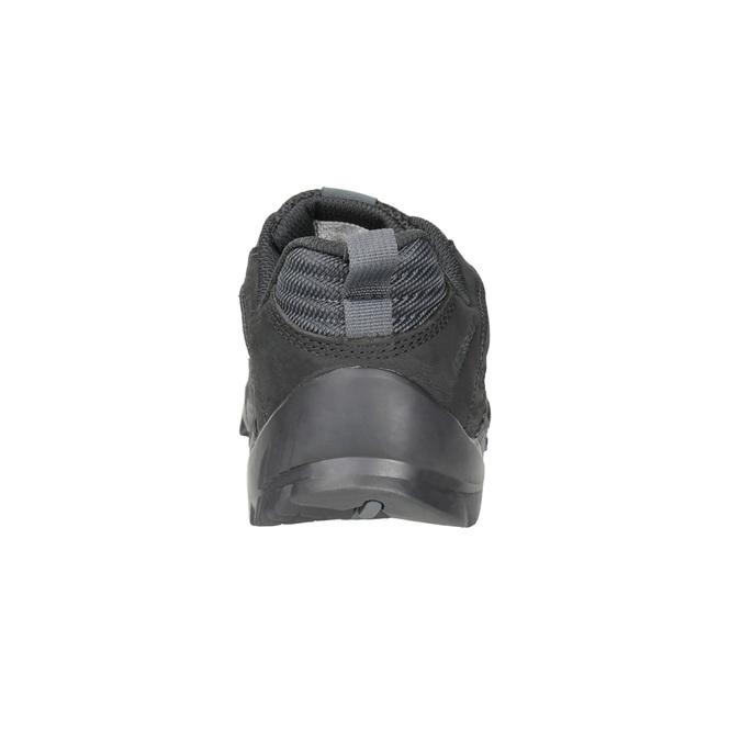 Skórzane obuwie męskie wstylu outdoor merrell, czarny, 806-6570 - 16