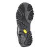 Skórzane obuwie męskie wstylu outdoor merrell, czarny, 806-6561 - 17