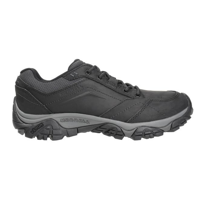 Skórzane obuwie męskie wstylu outdoor merrell, czarny, 806-6561 - 26