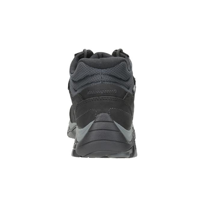 Skórzane buty za kostkę wstylu outdoor merrell, czarny, 806-6569 - 16