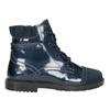 Skórzane obuwie dziecięce za kostkę primigi, niebieski, 228-9001 - 26