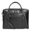 Czarna skórzana torba royal-republiq, czarny, 964-6051 - 16