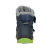 Zimowe buty dziecięce na rzepy mini-b, niebieski, 491-9654 - 16