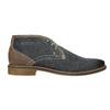 Skórzane buty męskie za kostkę bata, niebieski, 826-9920 - 26