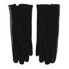 Damskie rękawice zkokardką bata, czarny, 909-6615 - 16