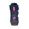 Zimowe buty dziewczęce na rzepy mini-b, niebieski, 299-9613 - 17