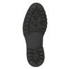 Skórzane botki zfuterkiem bata, czarny, 594-6656 - 17