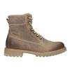 Brązowe skórzane buty za kostkę weinbrenner, 896-8702 - 26