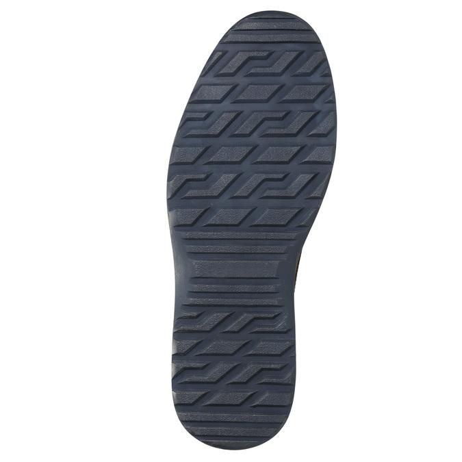 Skórzane buty męskie za kostkę bata, czarny, 896-6667 - 19