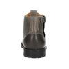 Męskie buty ombré za kostkę bata, szary, 896-2684 - 17