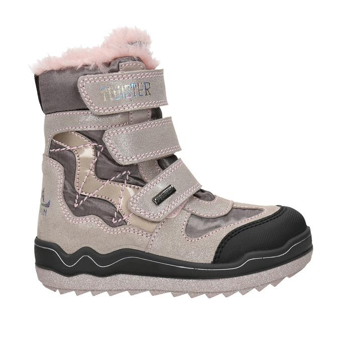 Różowe zimowe obuwie dziewczęce mini-b, 299-5613 - 15