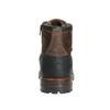 Skórzane obuwie męskie na grubej podeszwie bata, brązowy, 896-4665 - 17