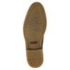 Obuwie męskie za kostkę, zprzeszyciami bata, brązowy, 826-4920 - 17
