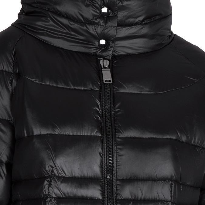 Pikowana kurtka damska bata, czarny, 979-6166 - 16