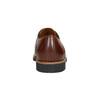 Skórzane półbuty męskie ze zdobieniami brogue conhpol, brązowy, 826-3921 - 16