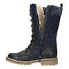 Zimowe buty dziewczęce zdzianiną mini-b, niebieski, 391-9657 - 26