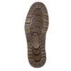 Zimowe obuwie męskie za kostkę bata, brązowy, 896-4657 - 19