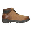 Skórzane zimowe buty męskie bata, brązowy, 896-3681 - 26