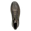 Obuwie męskie za kostkę, na grubej podeszwie bata, brązowy, 896-4683 - 26